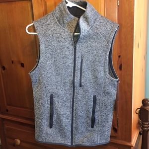 Grey Vest - Men's - Beverly Hill Polo Club